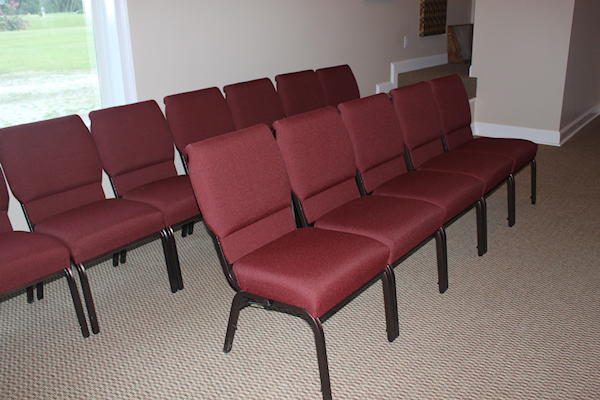 7 Chairs In Sanctuary